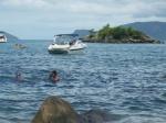 Con aye en el agua...minutos despues pisé un erizo de mar
